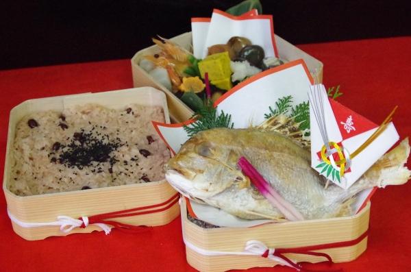 お食い初め弁当・慶法事弁当のテイクアウト始めました。