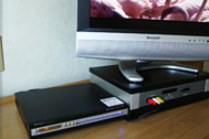 レンタルDVD/CDプレーヤーイメージ