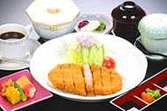 ★3種類から選べる★黒豚とんかつ♪松花堂弁当♪天ぷら刺身ご膳イメージ